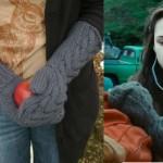 Bella's Twilight mittens – free knitting pattern