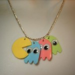 Pac-Man Jewellery from Folksy