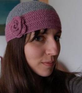 Katie Lee pink crochet