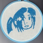 Scott Pilgrim: Knives Chau and Ramona Flowers X-Stitch