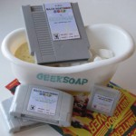 Get geeky-clean with game cartridge soaps