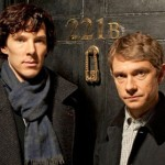 Sherlock - with Benedict Cumerbatch and Martin Freeman