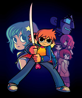Scott Pilgrim comics by Bryan Lee O'Malley - volume 6 cover