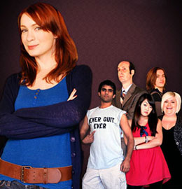 The Guild season 2 DVD cover, featuring Felicia Day and cast