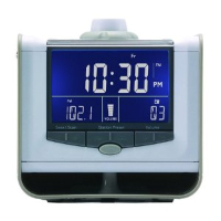 American Innovative Neverlate Executive Alarm Clock