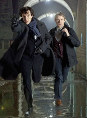 Sherlock episode two - The Blind Banker
