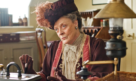 Dame Maggie in Downton Abbey