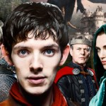 Merlin full cast, featuring Colin Morgan, Bradley James et al