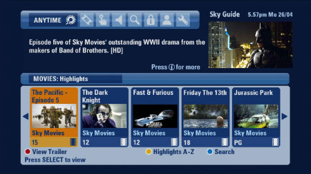 Sky Video In Demand