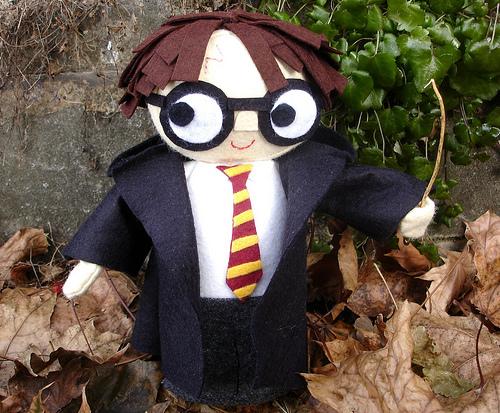 Free Harry Potter Doll Pattern by Heidi Kenney