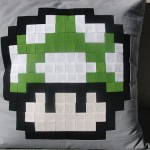 Free Super Mario Mushroom Cushion Pattern