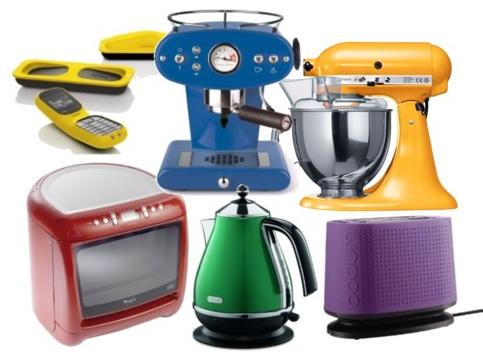 Colour Blocked Kitchen Gadgets