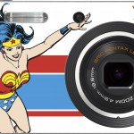 Pentax and DC Comics make super hero camera
