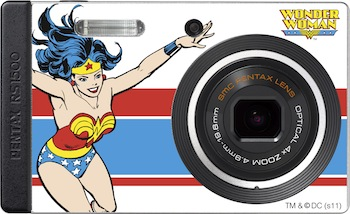 Pentax Wonder Woman Camera