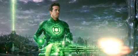 Green Lantern - featuring Ryan Reynolds