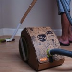 Cardboard vacuum cleaner? Neat idea