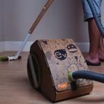 Cardboard vacuum cleaner? Neat idea