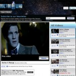 Doctor Who Video App Screenshot