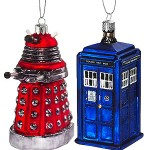 Doctor Who Christmas Tree Decorations