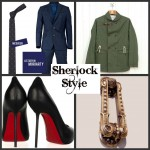 Wear Sherlock's coat, Irene Adler's shoes and Moriarty's tie