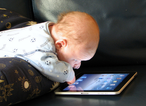 Toddler need an iPad