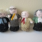 Hug a politician: Knitted mayoral candidates