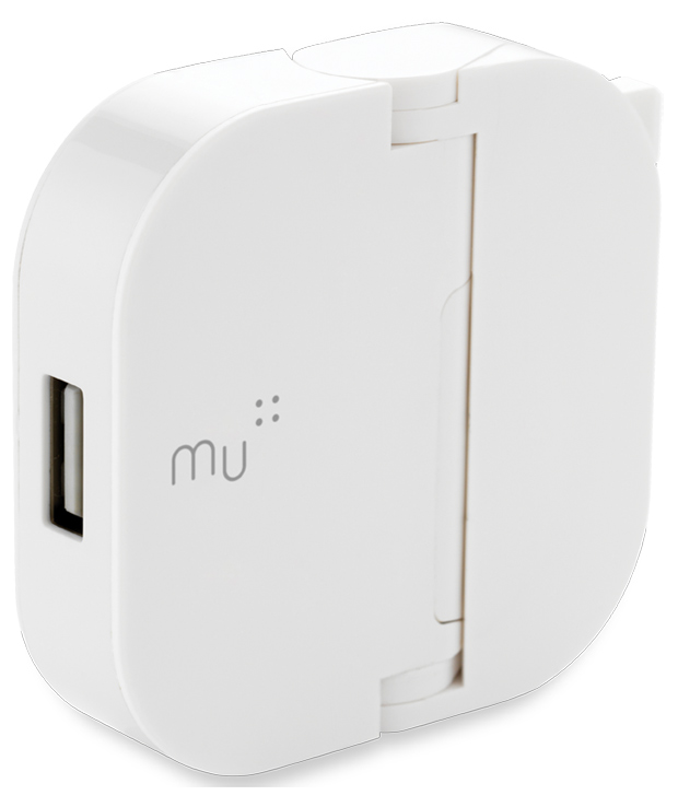Reinventing the plug: The MU USB adapter