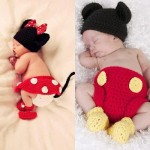 Yoo Hoo! Minnie Mouse Diaper Cover crochet pattern