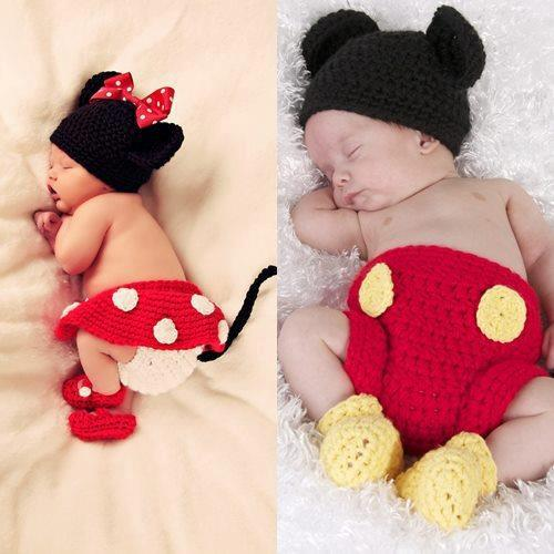Yoo Hoo Minnie Mouse Diaper Cover Crochet Pattern