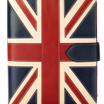 Aspinal Union Jack Leather Laptop Case