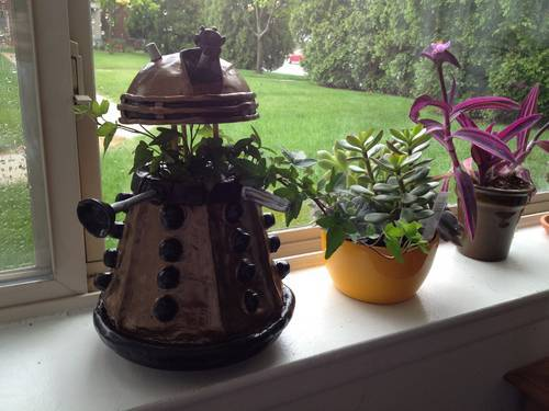 Germinate! Germinate! Dalek Plant Pot