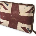 Vintage Union Jack Laptop Case