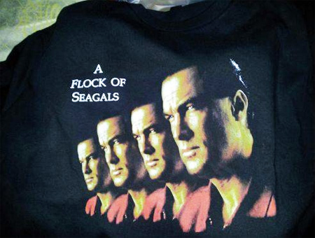 Flock of Steven Seagals