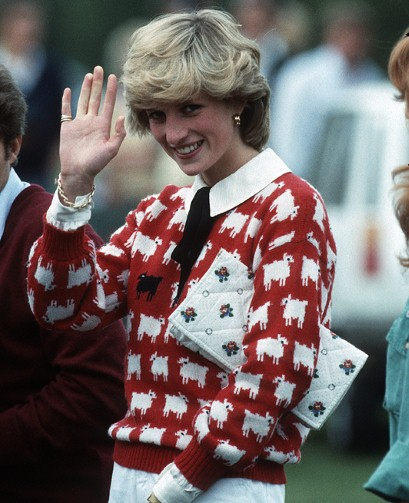 classic styles get cheap fashion style of 2019 How to knit Princess Diana's Sheep Sweater