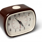 Bakelite Clock Brown