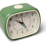 Bakelite Clock Green