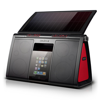 Eton's Solar iPod Speakers
