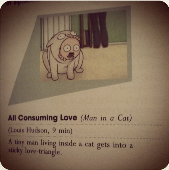 All Consuming Love (Man in a Cat)