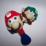Crochet Nintedo Rattles