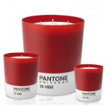 Pantone's colour-scented candles