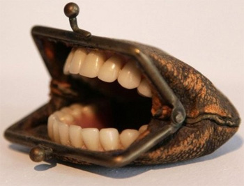 Teeth Purse Will Haunt Your Nightmares