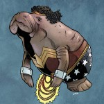 Wonder Woman Manatee