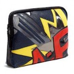 BANG PATCHWORK LEATHER 31 MINUTE CLUTCH BAG
