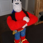 Knitted Desperate Dan