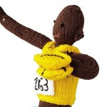 Knitted Usain Bolt Free Pattern