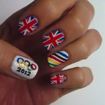 Olympic Nail Art How To