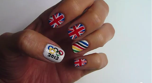 Geek Nail Art Special Union Jack And Stars And Stripes Tutorial