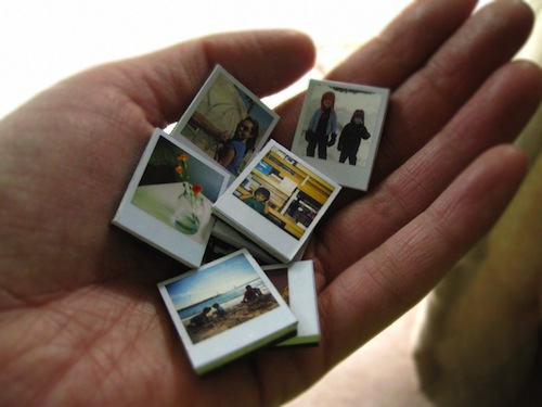 Instagram It: Tiny Polaroid Magnets from AmbrosiaCreative