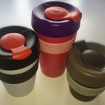 KeepCup travel coffee cups.