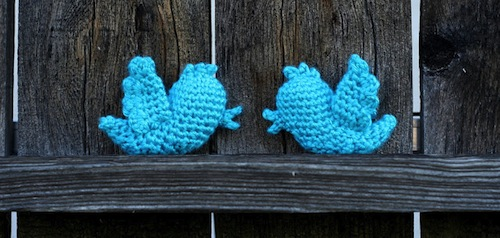 Free Twitter Bird Crochet Pattern by Bethsco